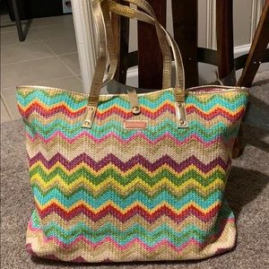 Lilly Pulitzer Zig Zag Beach Bag